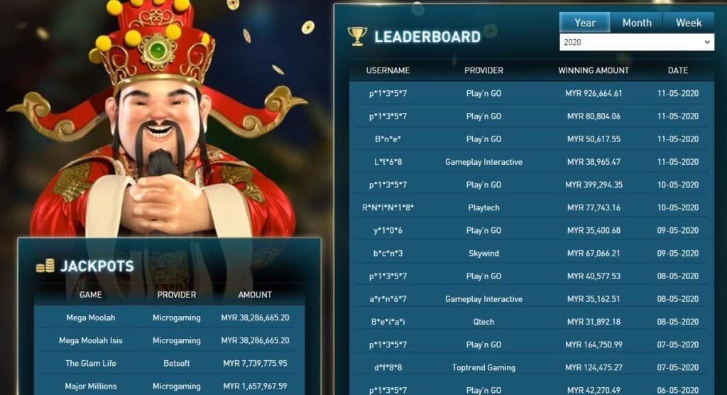 Malaysia trusted casino online 2020