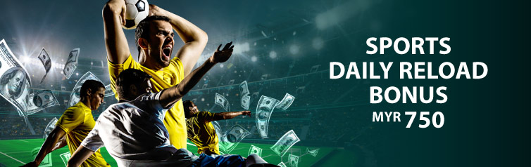 sports betting daily reload bonus 2021